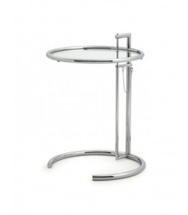 Adjustable Table E 1027 chrom Eileen Gray Classicon