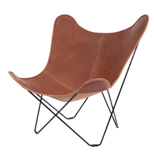 mariposa butterfly chair leder. Black Bedroom Furniture Sets. Home Design Ideas
