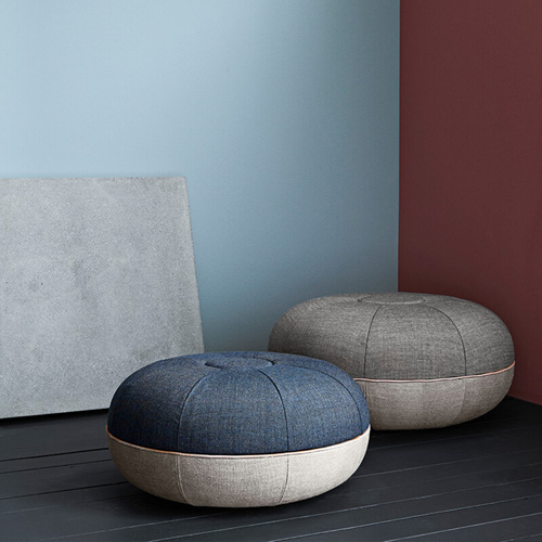 pouf hocker s fritz hansen. Black Bedroom Furniture Sets. Home Design Ideas