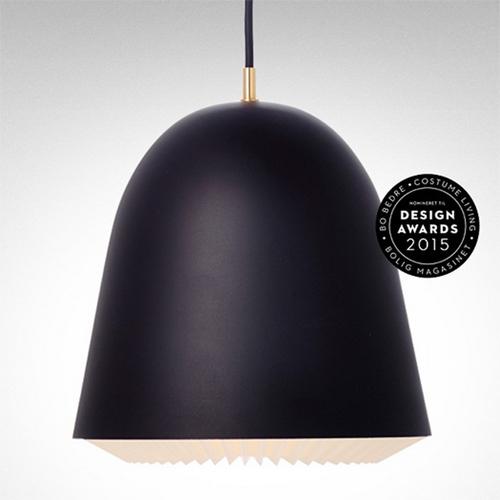 Cache pendelleuchte schwarz le klint for Design produkte shop