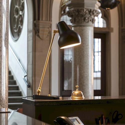 Vl38 tischleuchte vilhelm lauritzen louis poulsen for Design produkte shop