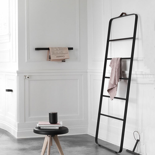 handtuchhalter towel ladder menu. Black Bedroom Furniture Sets. Home Design Ideas