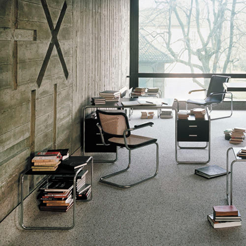 schreibtisch s 285 marcel breuer thonet. Black Bedroom Furniture Sets. Home Design Ideas