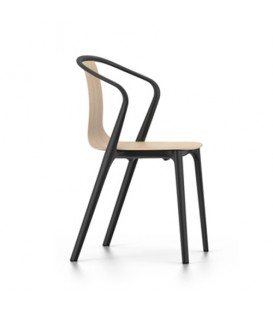 Belleville Chair Wood Bouroullec Vitra