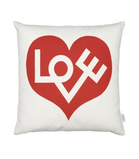Graphic Print Pillows Love Alexander Girard Vitra
