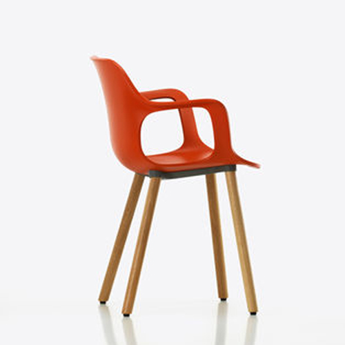Hal armchair wood vitra for Jasper stuhl 980