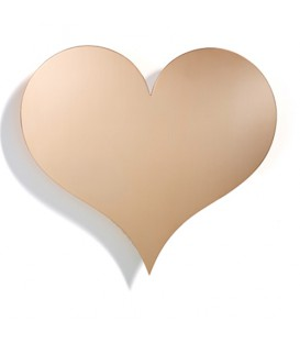 Heart Metall Wall Relief Girard Vitra