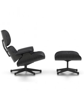 Eames Lounge Chair schwarze Version Vitra
