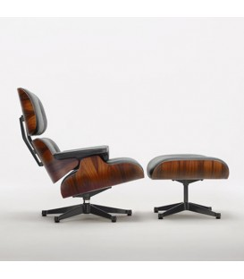 Eames Lounge Chair Santos Palisander Vitra