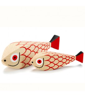 Mother Fish Child Fish Wooden Dolls Vitra