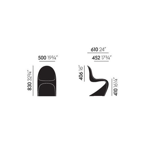 Panton chair summer edition von vitra for Design produkte shop