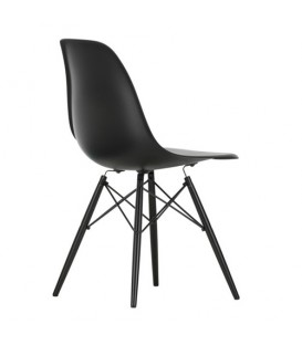 Eames Side Chair DSW Vitra black beauty