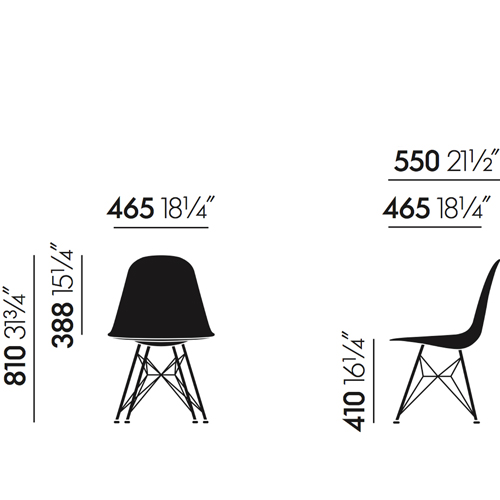 Eames Side Chair Dsr